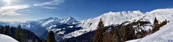 2016-03-11 La Rosiere 18 vers Bourg St Maurice